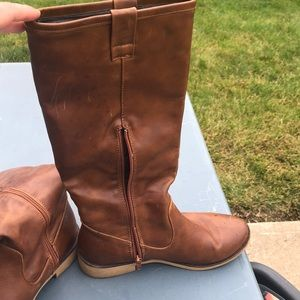 brown boots by Wanted, size 7.5